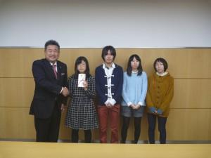 敢闘賞+会長賞(神奈川工科大学)